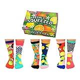 Zitrusfrüchte Oddsocks Socken in 37-42 im 6er Set - Strumpf