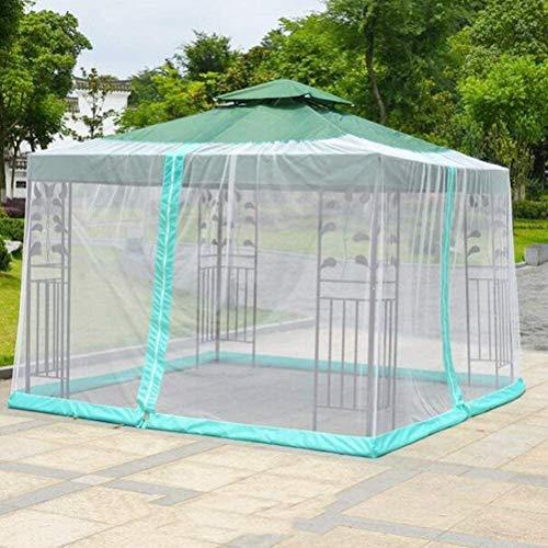 kyman Paraguas de jardín al Aire Libre Su sombrilla en un Mirador de jardín Exterior Paraguas Cubierta de Mosquito Netificación con Cremallera (Color: 300 * 300 * 230 cm) (Color : 300 * 400 * 230cm)