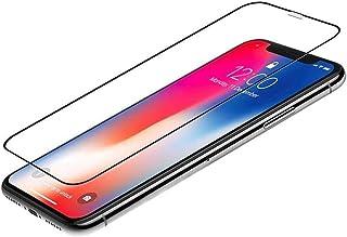 واقي شاشة Preserver Glass Screen Protector Compatible with iPhone XS Full Body Film 9H Full Cover Screen Anti-glare Treatm...