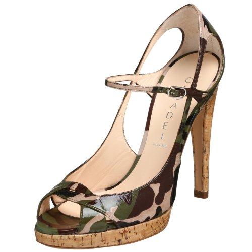 Casadei Damen 1061 Pumps, Mehrere (Camouflage), 40.5 EU
