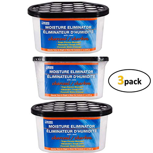 Best Price TopNotch Outlet Dehumidifier Pellets - Charcoal Moisture and Odor Eliminators (3 Tubs) Tr...
