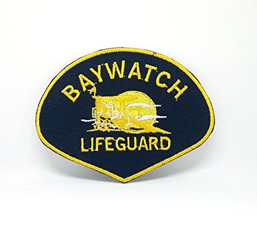 Baywatch Lifeguard, Life Guard Eisen auf Sew auf bestickt Patch
