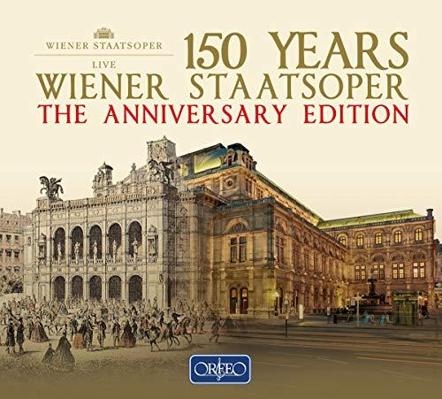 150 Jahre Wiener Staatsoper - Die Jubiläumsausgabe der Wiener Staatsoper 1955 - 2016 [22 CD-Box]
