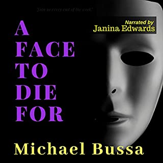A Face to Die For audiobook cover art
