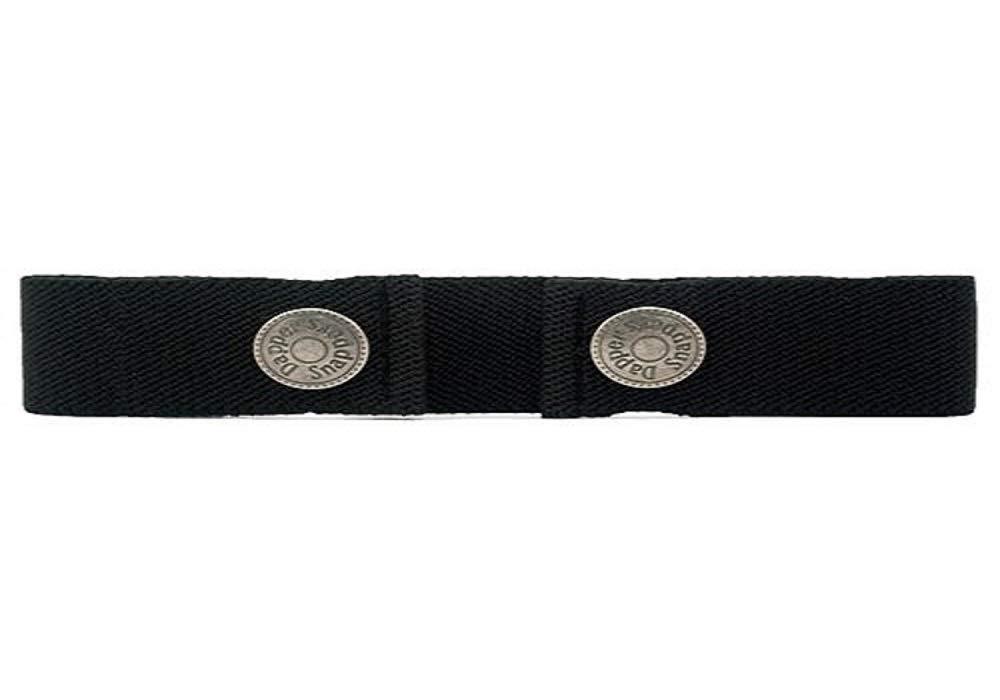 Dapper Snapper Baby & Toddler Adjustable Belt (Black)