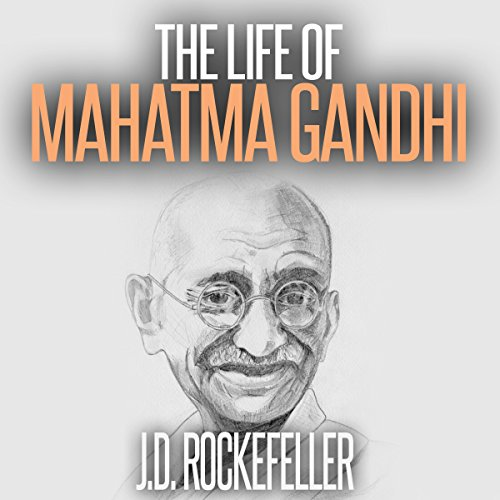The Life of Mahatma Gandhi audiobook cover art