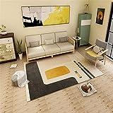 Cuadros Habitacion Juvenil Alfombras Pequeñas Dormitorio Simple abstracto Geométrico Seguridad Salón de protección ambiental Salón Aislamiento de sonido antideslizante Aislamiento de agua Alfombra Azu