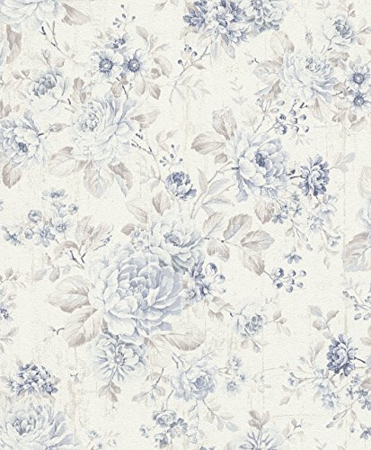 Rasch paperhangings 516012papel pintado pared que cubre–azul (Juego de 12)
