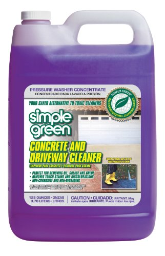 1 Gallon Simple Green Concrete & Driveway Cleaner C [Set of 4]