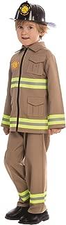 Dress Up America Disfraz de Bombero KJ para niños