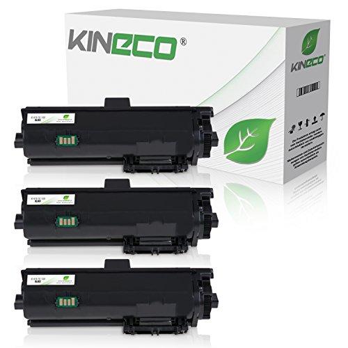 3 Kineco Toner kompatibel zu Kyocera TK-1150 für Kyocera Ecosys P2235dn P2235dw M2135 M2635 M2735 - je 3.000 Seiten