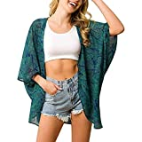 Ganmek Blusa De Bikini Impresa con Camisa De Protección Sol Impresa Blusa De Bikini con Estilo De Sol Estilo Sol Camisa Durable