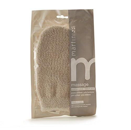 MartiniSPA Massage Natural Manopola Rinvigorente in Filato Sintetico Esfoliante - 35 g