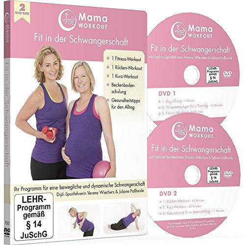 MamaWORKOUT - Fit in der Schwangerschaft (2 DVDs) ++ Das Standardwerk von Expertin Verena Wiechers, Leiterin der Akademie für Prä- & Postnatales Training