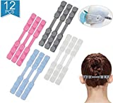 Maylai Mask Strap Ear Hooks Protection Buckle Multifunction Silicone Hook Adjustable Buckle Non-Slip Ear Hook Extension Buckle for All Kinds of Mask - Relax Your Ears (12PCS)