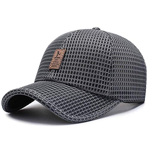XHCP Cap Soft Quick Dry Lightweight Breathable Mesh Spring and Summer Sports Casual Baseball Cap Male Sunscreen Visor Fishing Portable Unisex Protetion Adventure