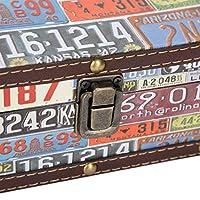 化粧品の手紙の宝石類の文書を保管するための木製の箱、多目的ライト装飾スタッシュボックス