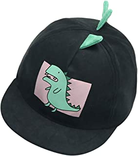 PRETYZOOM Children Summer Hat Breathable Sun Baseball Cap Dinosaur Hat (Light Blue, Suitable for 1-6 Years Old, 48-52cm)