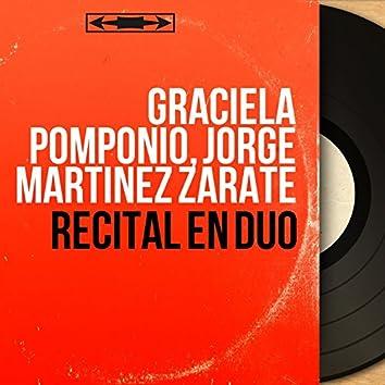 Récital en duo (Mono Version)