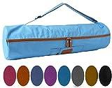 #DoYourYoga Yogatasche »Sunita hochwertigem Canvas (Segeltuch) /die Tasche ist für Yogamatten bis zu Einer Größe von 186 x 61 x 0,6 cm/in 9 farbenfrohen Farbvarianten Sandfarben