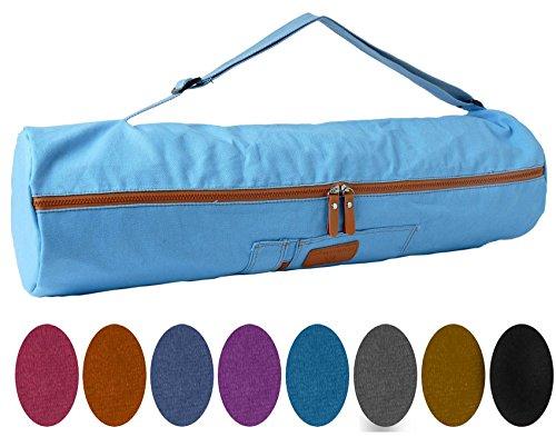 #DoYourYoga Yogatasche »Sunita hochwertigem Canvas (Segeltuch) /die Tasche ist für Yogamatten bis zu Einer Größe von 186 x 61 x 0,6 cm/in 9 farbenfrohen Farbvarianten Pfirsisch