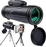 FZMT Telescopio monocular para teléfono Inteligente, telescopio...
