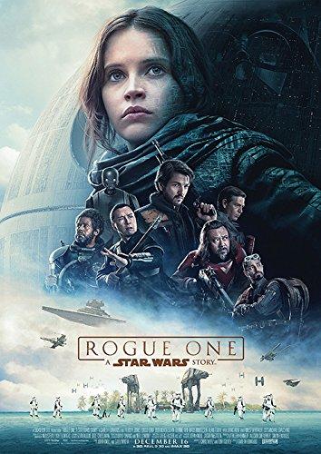 映画 ローグ ワン スター ウォーズ ストーリー ポスター 42x30cm 2016 Rogue One: A Star Wars Story ジン・アーソ フェリシティ・ジョーンズ キャシアン・アンドア大尉 ボーディー・ルック チアルート・イムウェ K-