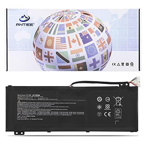 ANTIEE AP18E8M Battery for Acer Nitro 5 AN517-51 AN517-52 AN515-54 Aspire 7 AN715-51 A715-74 A715-74G ConceptD CN315-71P CN515-71 71P Predator Triton 300 PT315-51 Helios 300 PH315-52 PH317-53 AP18E7M