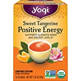Yogi Tea - Sweet Tangerine Positive Energy (6 Pack) - Supports Elevated Mood and Energy Levels - 96...