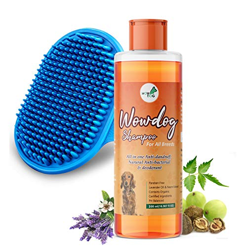WOW DOG Dog Shampoo Anti-Bacterial & Anti-Dandruff with...