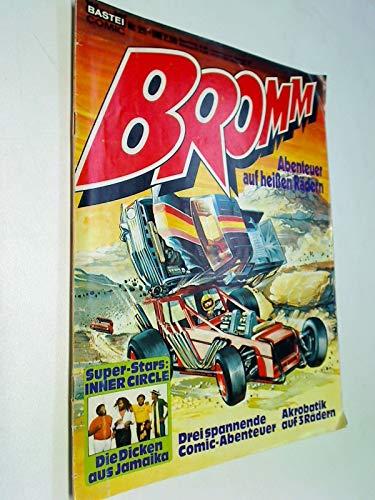 BROMM Nr. 25 Das Team der jungen Wölfe , Abenteuer auf heißen Rädern, Bastei Comic-Magazin, ERSTAUSGABE