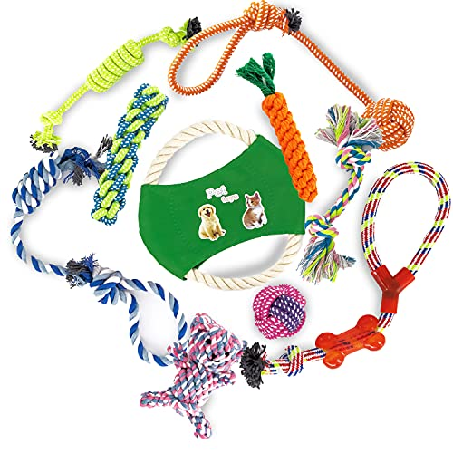 KEPLIN Chew Toys for Dogs or Puppies, Ropes for Teething or Training, 100%...