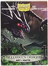 Arcane Tinmen Dragon Shield Sleeves - Matte Art 100 CT - MGT Card Sleeves - Compatible with Magic The Gathering Card Sleeves Pokémon and Other Card Games - Limited Edition: Halloween 2020 (ART12050)