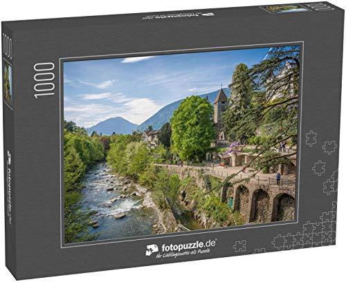Puzzle 1000 Teile Die schönste Promenade in Meran ist jedoch der Tappeinerweg - Klassische Puzzle, 1000/200/2000 Teile, in edler Motiv-Schachtel, Fotopuzzle-Kollektion 'Italien'