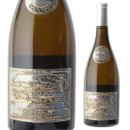 シャブリ キュヴェ エタン ドメーヌ ヴォコレ [ブルゴーニュ][白ワイン][限定ボトル][メタル ラベル]