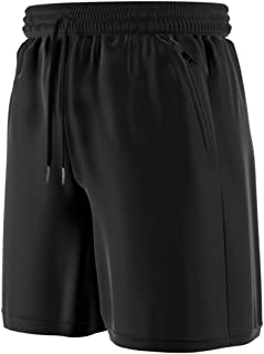 """Comfort 360° - Men's Premium Athletic Shorts with Zipper Pockets, 9"""" Running Basketball Workout Gym Shorts for Men"""