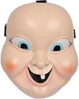 Xcoser Happy Mask Deluxe Resin Cosplay Prop Halloween Costume Accessory