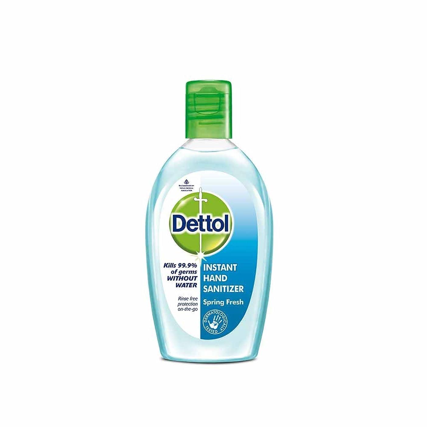 ふりをするギネス興味Dettol Instant Hand Sanitizer Spring Fresh - 50 ml