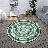 alfombra exterior terraza redonda