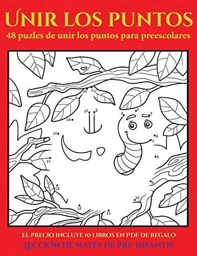 Lección de mates de pre-infantil (48 puzles de unir los pun