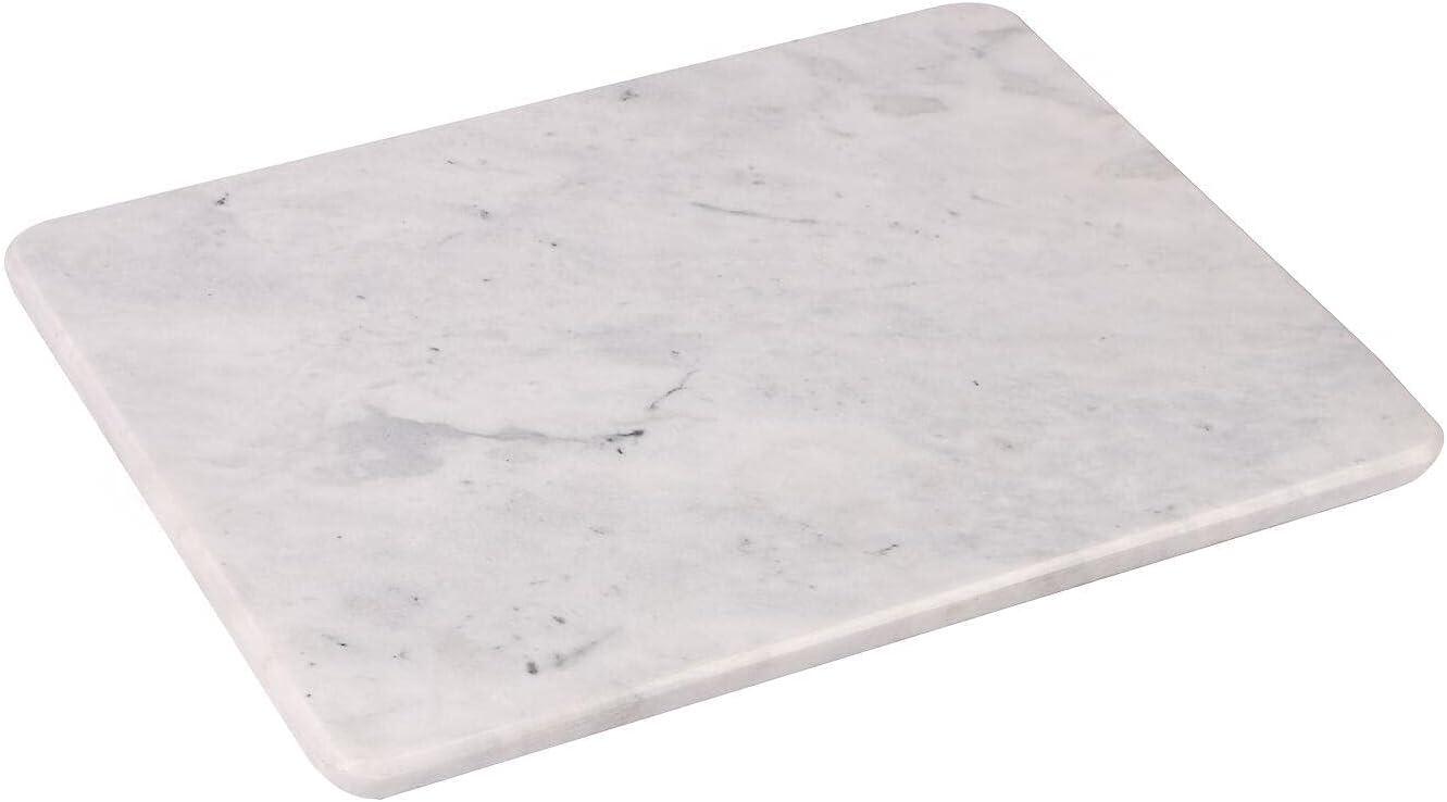 Multi-Purpose Pastry Marble Cutting essenti Ranking TOP15 Max 79% OFF Board White Kitchen