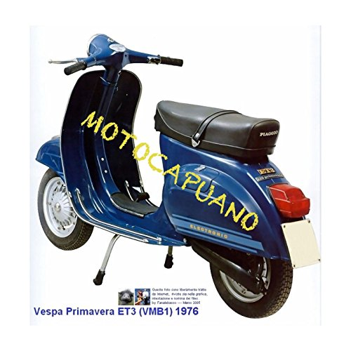 Kit restauro RICAMBI Vespa 125 Primavera 2deg serie MANOPOLE STRISCE PEDANA