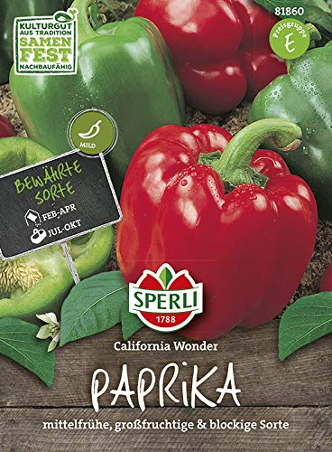 Paprika California Wonder