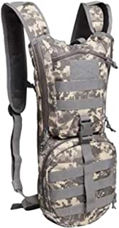 Prettyia Light Water Pack – Tear Resistant Hydration Backpack – with 3L Water Bladder- for Hiking, Hiking, Biking