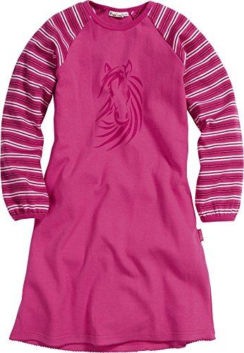 Playshoes Mädchen Interlock Pferde Nachthemd, Rosa (original 900), (Herstellergröße: 98)