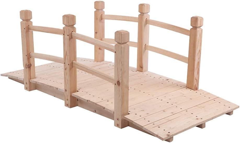Zokop Arch Bridge Small Outdoor Anticorr Wooden Max 69% OFF security Courtyard