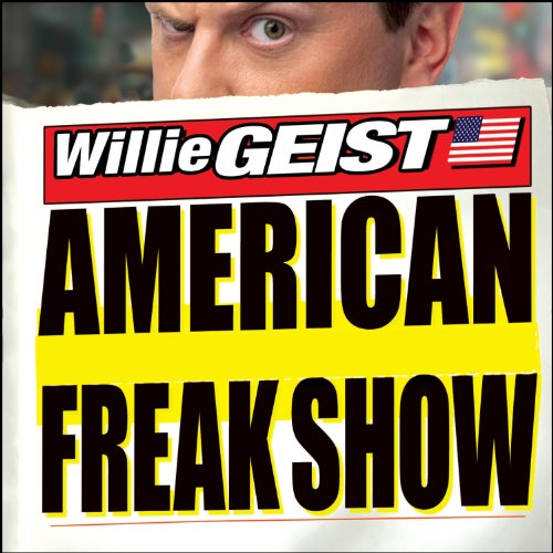 American Freak Show audiobook cover art
