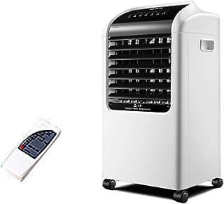 Ventilador de aire acondicionado LYGT Solo Ventilador de enfriamiento de Agua fría 65w Humidificador silencioso con Control Remoto, Tanque de Agua Grande de 8 l, para Restaurante de Oficina en casa