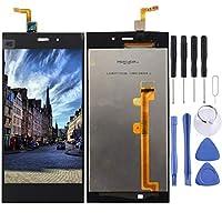 携帯電話の交換用LCDの画面 Xiaomi Mi 3(ブラック)用の液晶画面+タッチスクリーン (色 : Black)