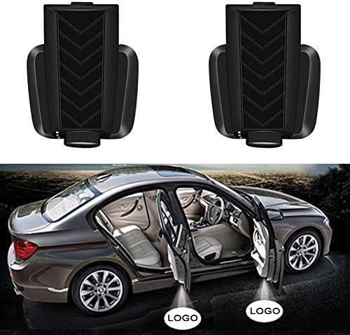 Convenience Bulbs [Alternative dealer] Car Led Wireless Super Special SALE held D Door Welcome Logo Light